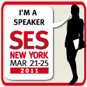 Hear me speak at SES NY